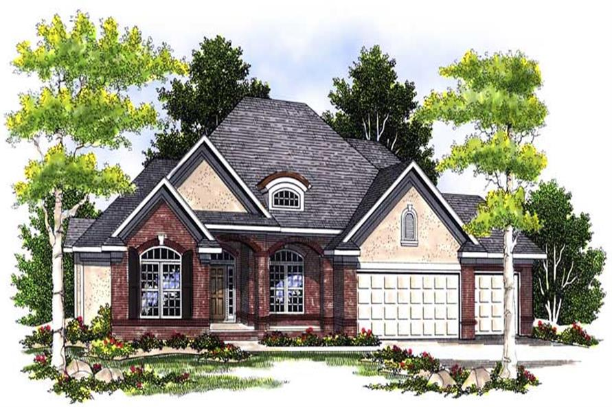 Main image for house plan # 13588