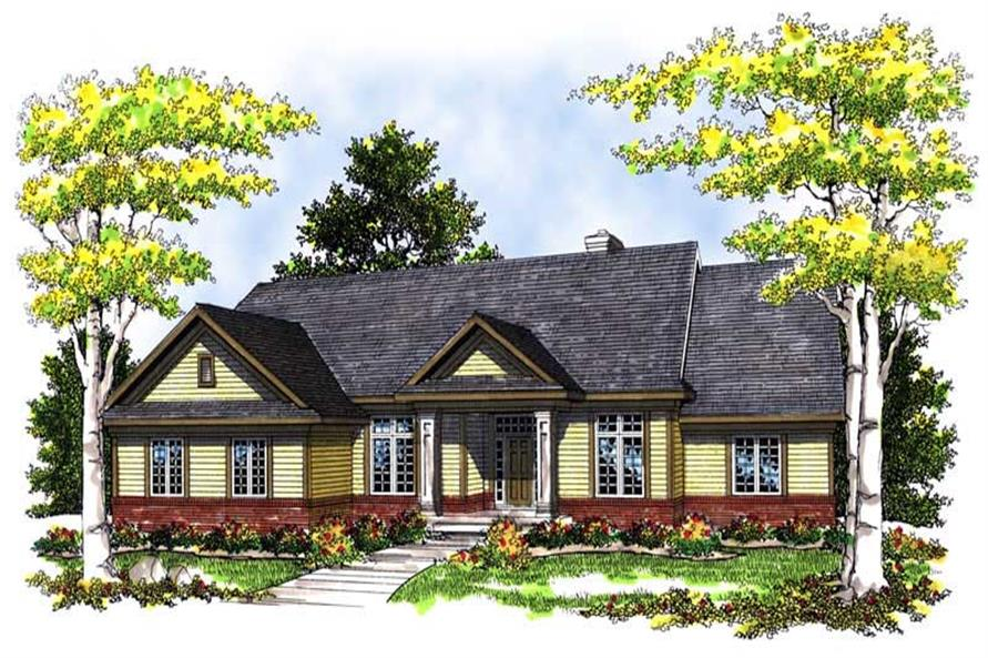 Main image for house plan # 13559