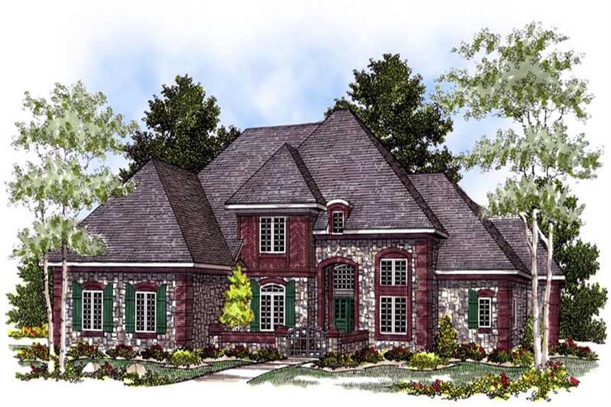 Main image for house plan # 13596