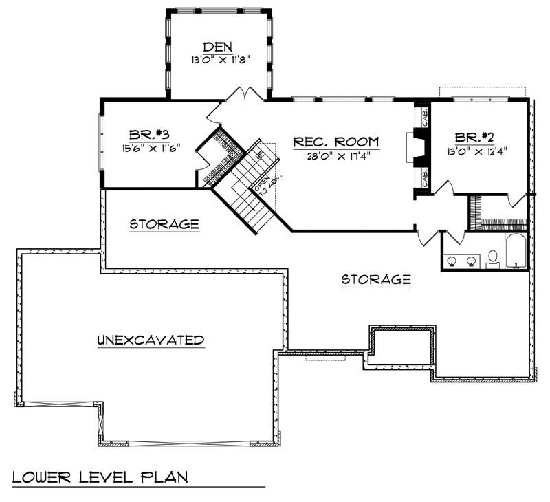 ranch home with 3 bdrms 3086 sq ft house plan 101 1376