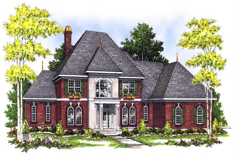 Main image for house plan # 13590