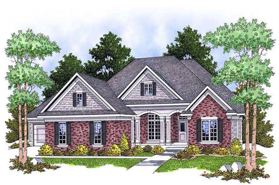 Main image for house plan # 13897