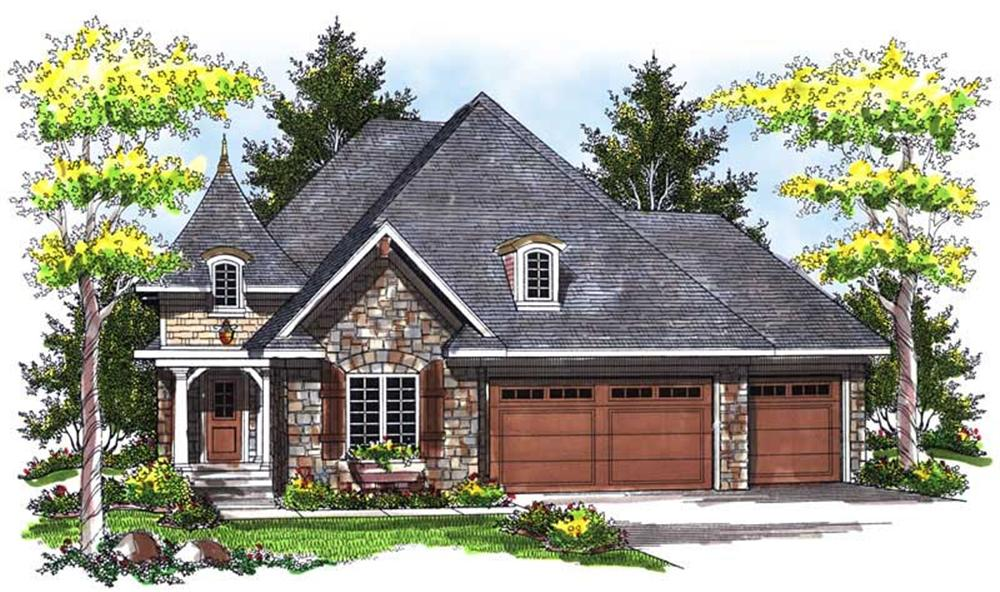 Main image for house plan # 14000