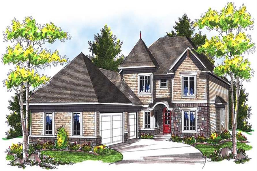 Main image for house plan # 14001