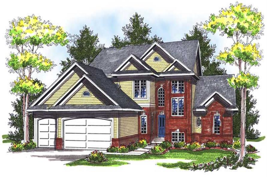 Main image for house plan # 14005