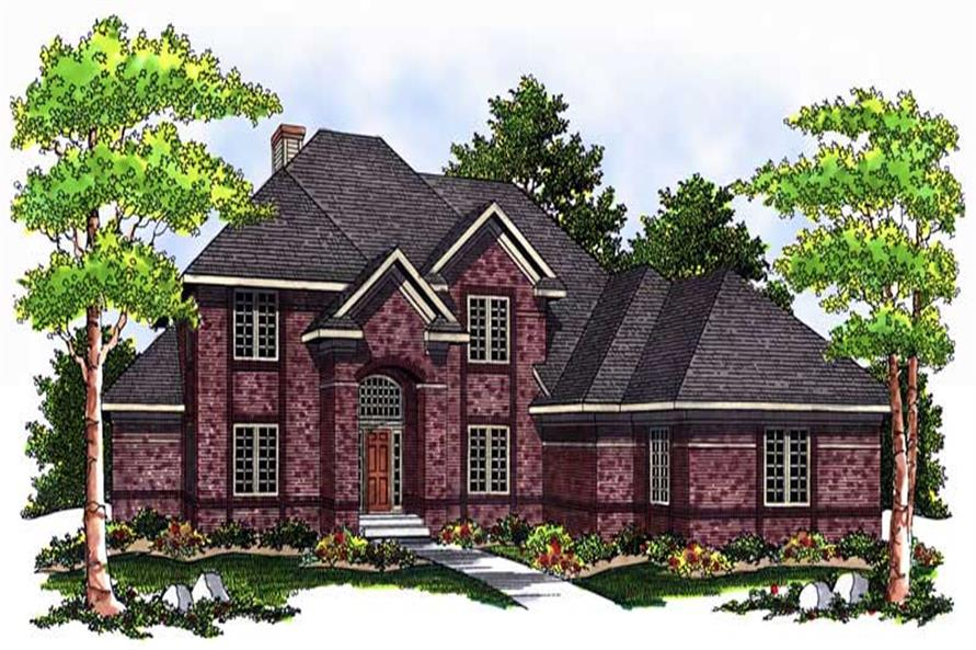 Main image for house plan # 13729