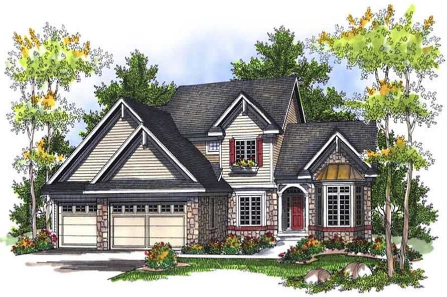Main image for house plan # 13989