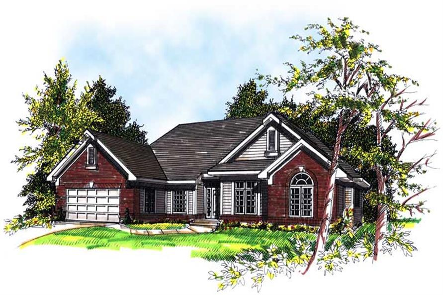 Main image for house plan # 13422