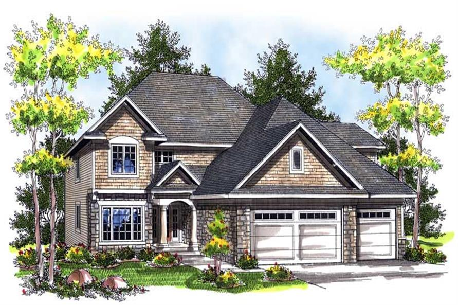 Main image for house plan # 14013