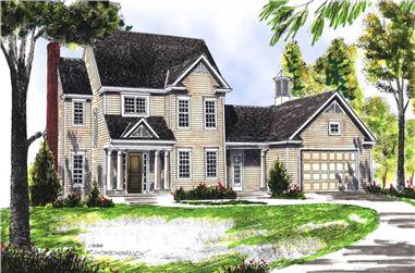 Main image for house plan # 13614