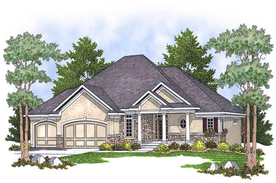 Main image for house plan # 13882