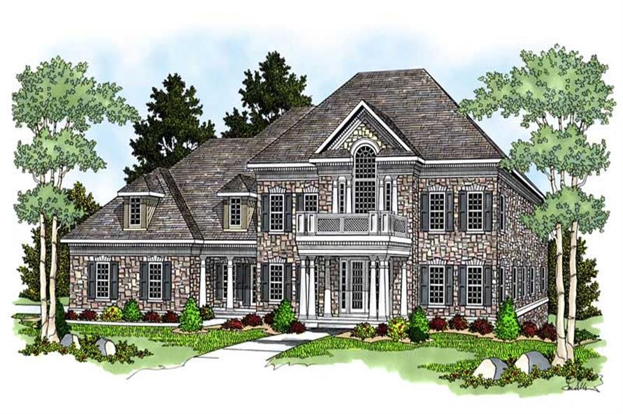 Main image for house plan # 13767