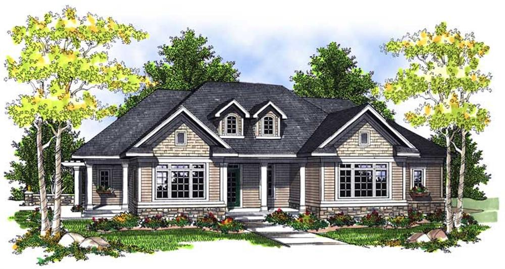 Main image for house plan # 13969