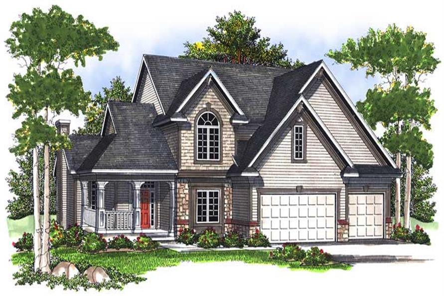Main image for house plan # 13992
