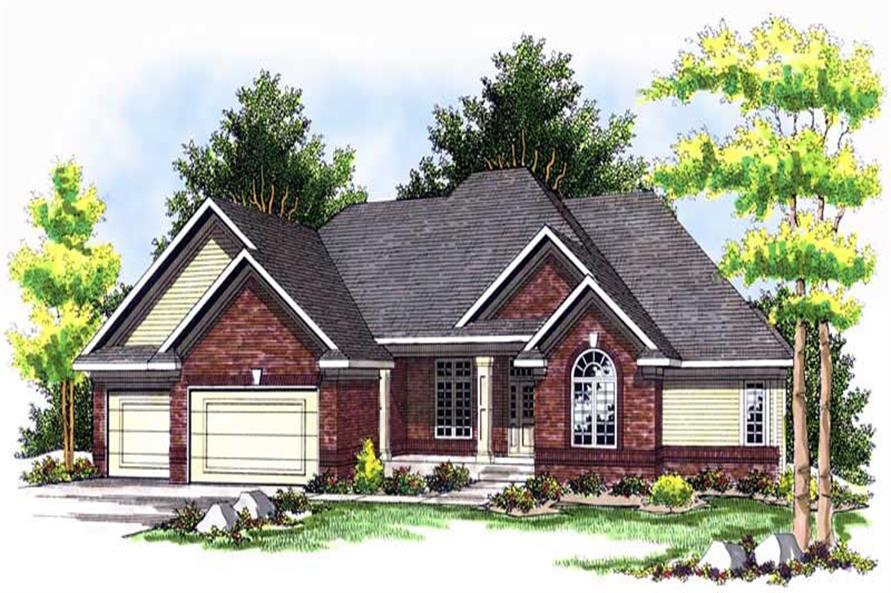 4-Bedroom, 2570 Sq Ft Craftsman House Plan - 101-1432 - Front Exterior