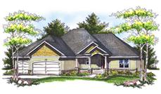 Main image for house plan # 14016