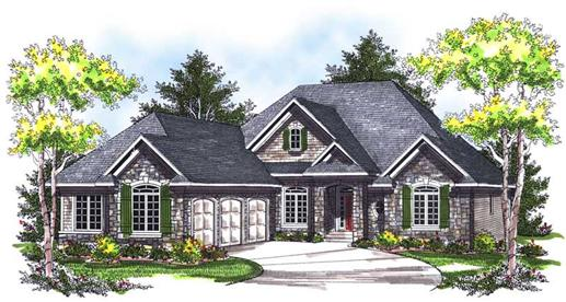 Main image for house plan # 14018
