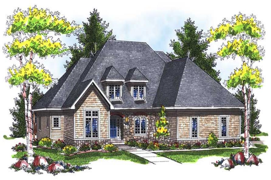 Main image for house plan # 14020