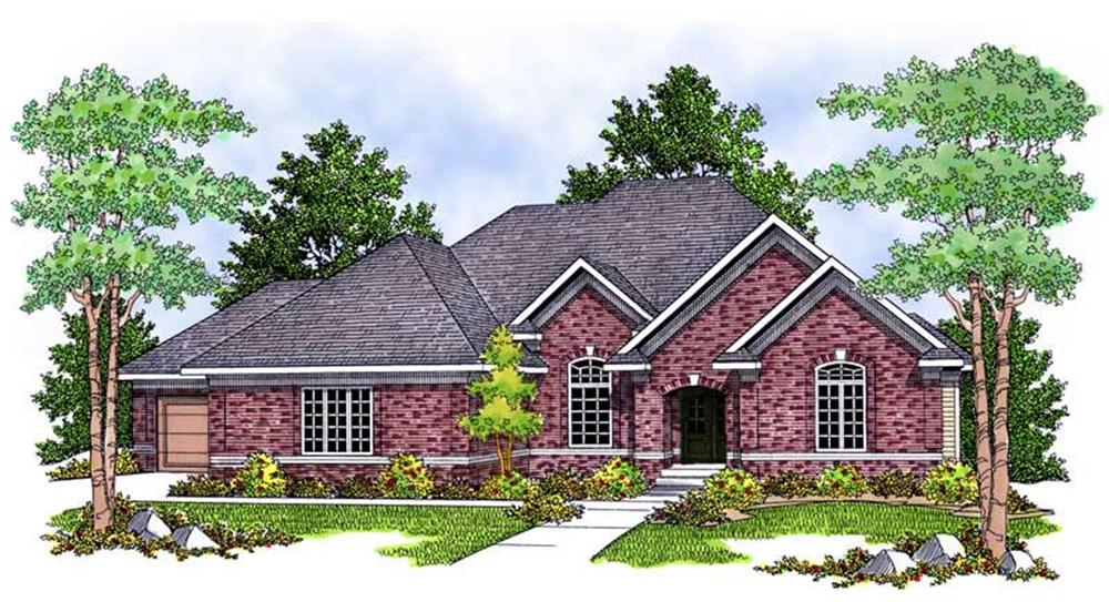 Main image for house plan # 13903