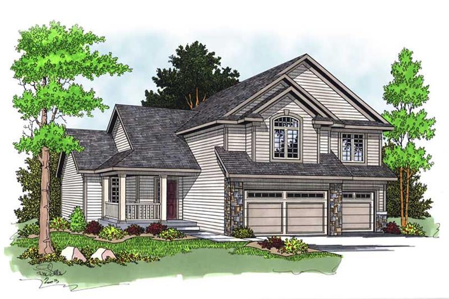 Main image for house plan # 13776