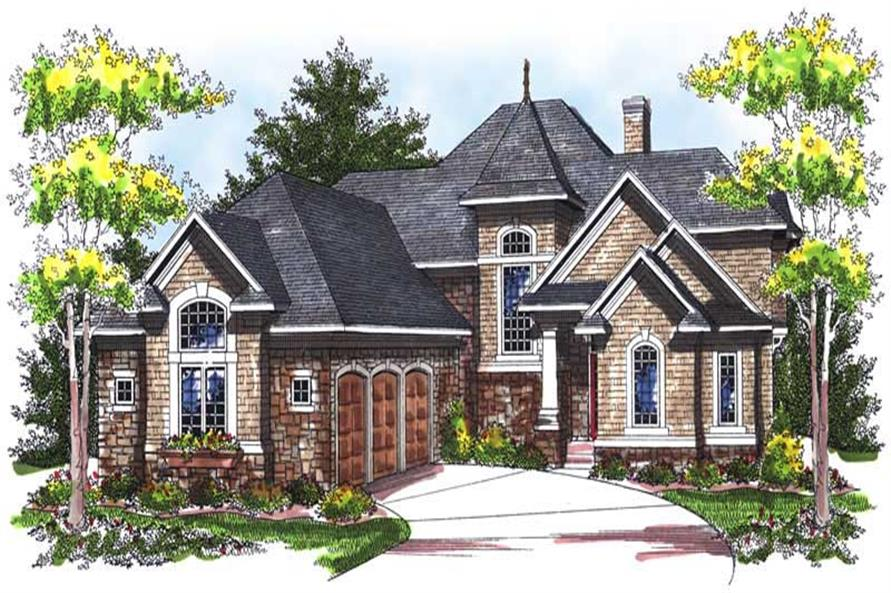 Main image for house plan # 14025