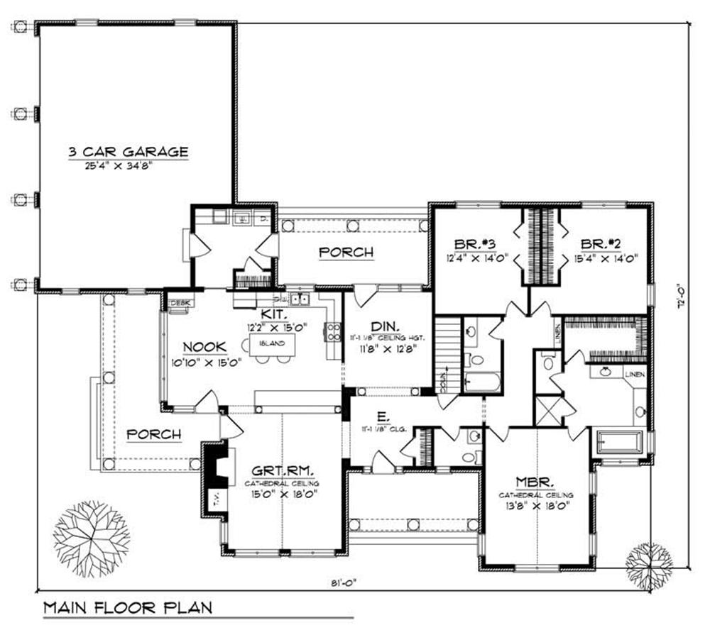 Large images for house plan 101 1454 for Home design 101