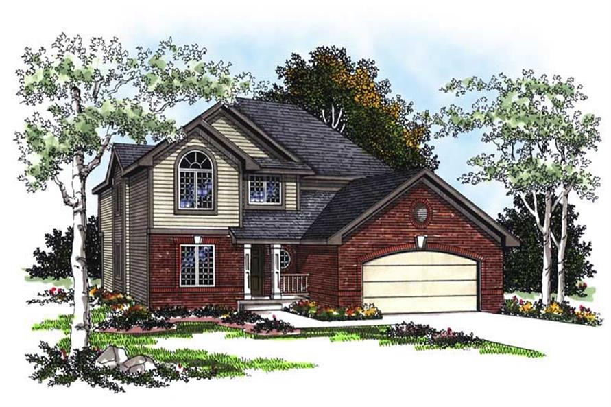 Main image for house plan # 13387