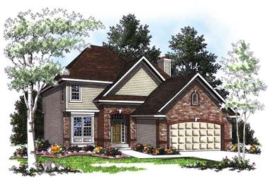 4-Bedroom, 2245 Sq Ft Country House Plan - 101-1460 - Front Exterior