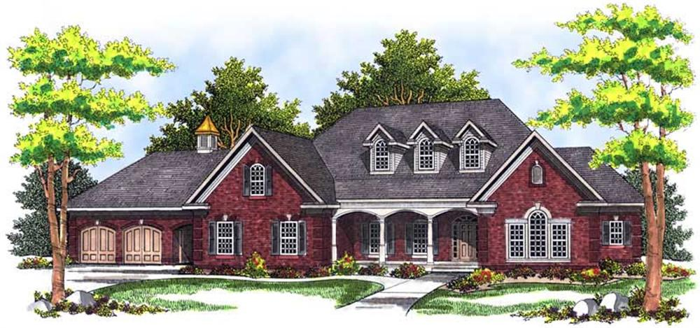 Main image for house plan # 13687