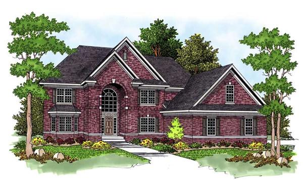 Main image for house plan # 13766
