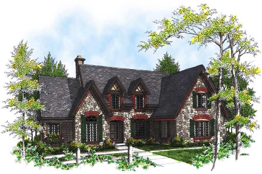 Main image for house plan # 13471