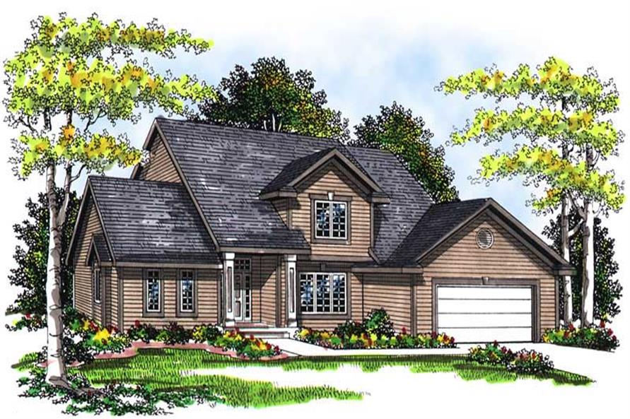 Main image for house plan # 13442