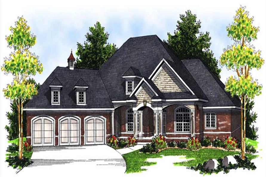 Main image for house plan # 13947