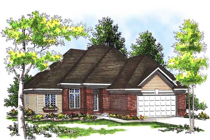 Main image for house plan # 13489