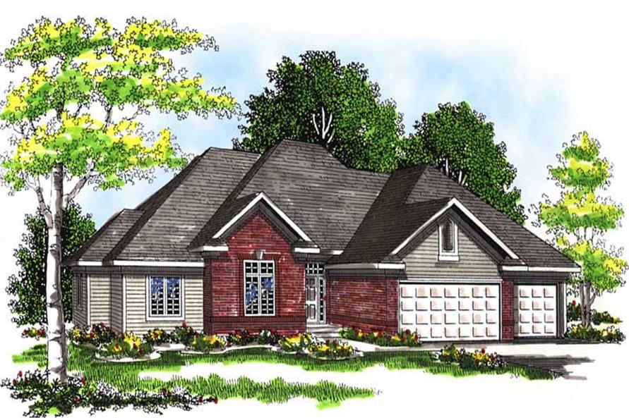 Main image for house plan # 13490