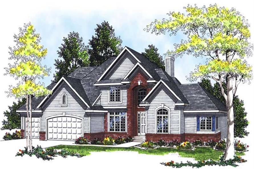 Main image for house plan # 13491
