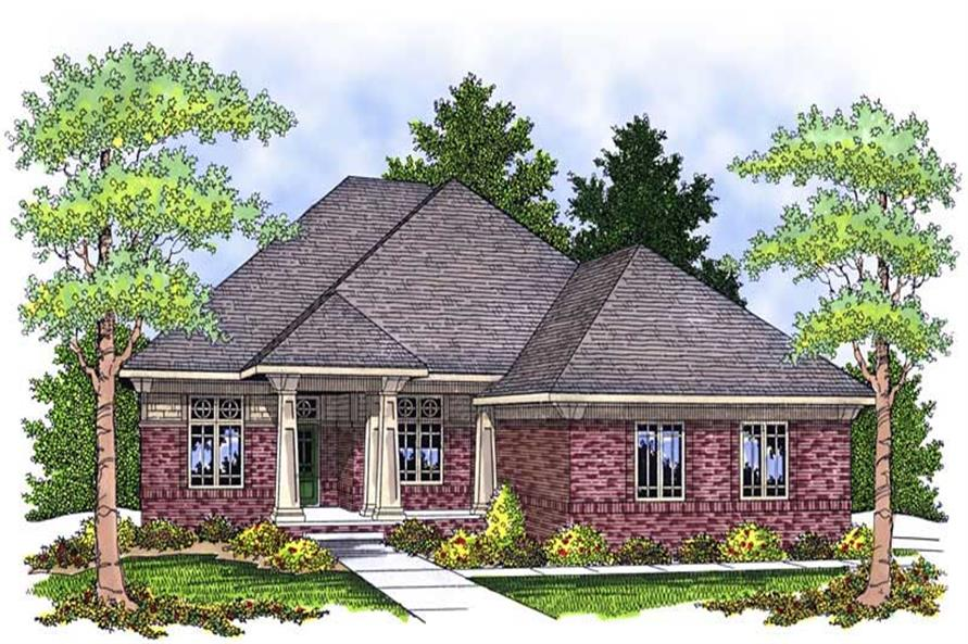 Main image for house plan # 13910