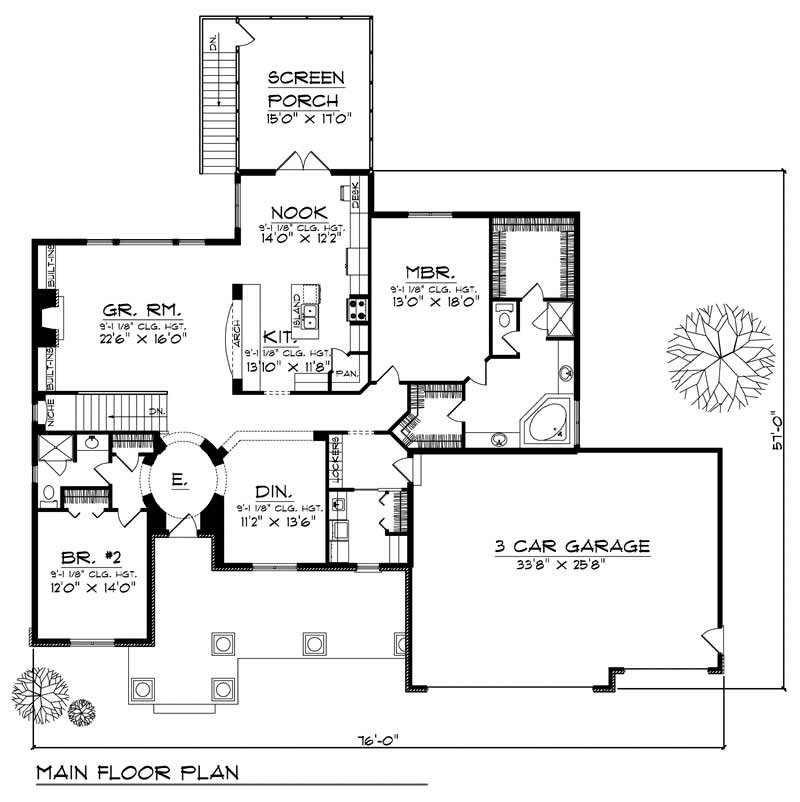 House Design 101: Ranch Home With 2 Bdrms, 2194 Sq Ft