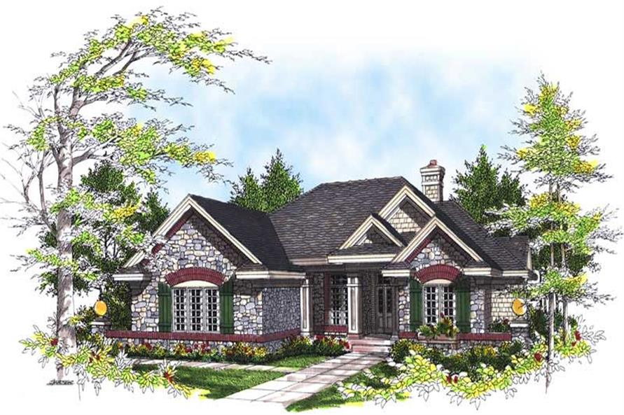 Main image for house plan # 13497