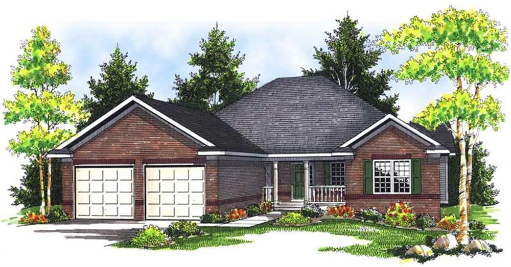 Main image for house plan # 13935