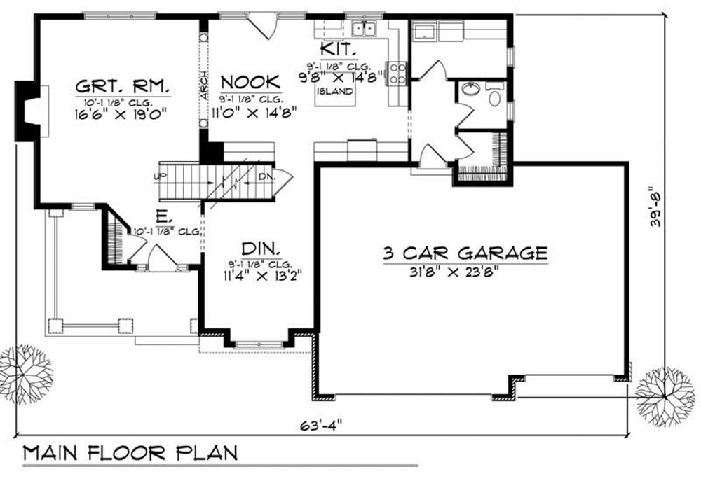 large images for house plan 101 1513