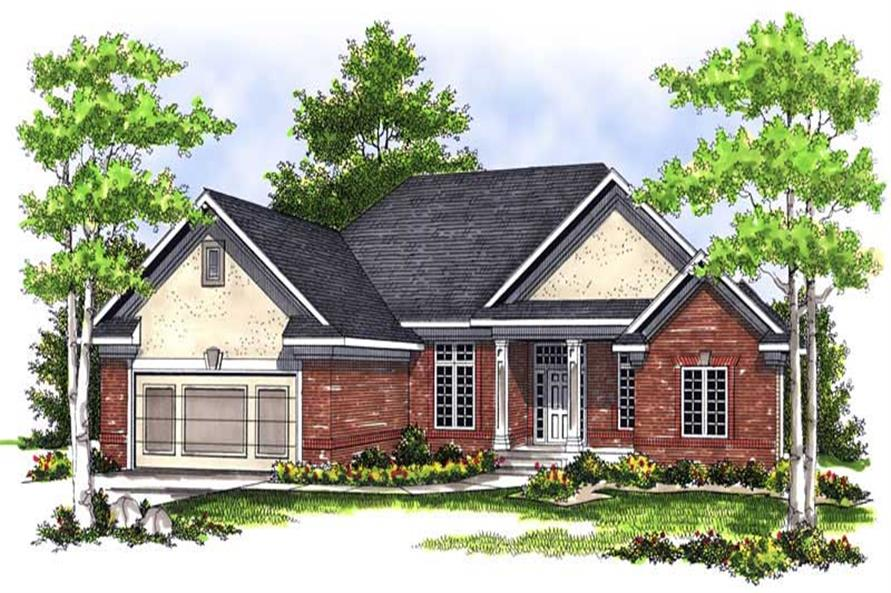 Main image for house plan # 13694