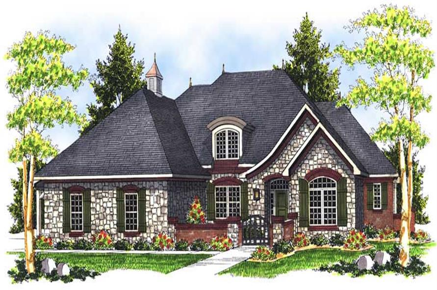 Main image for house plan # 13964