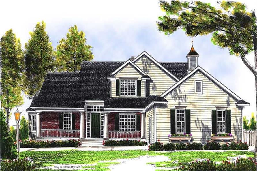 Main image for house plan # 13661