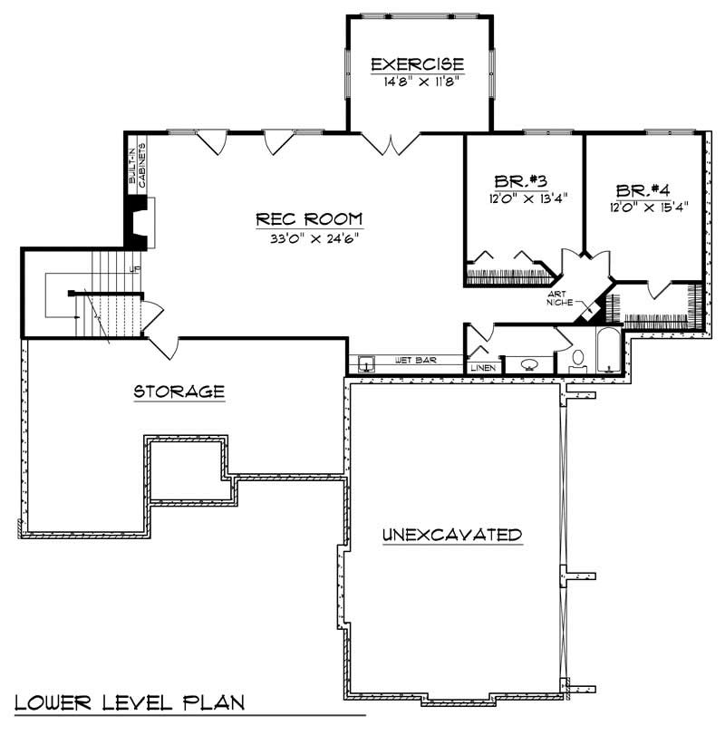 european home with 4 bdrms 3798 sq ft house plan 101 1522