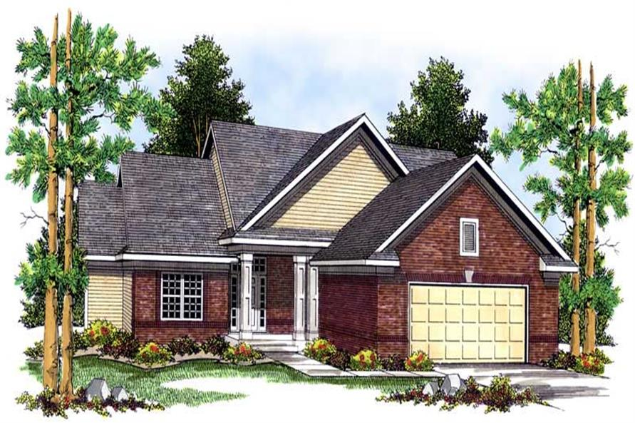 Main image for house plan # 13627