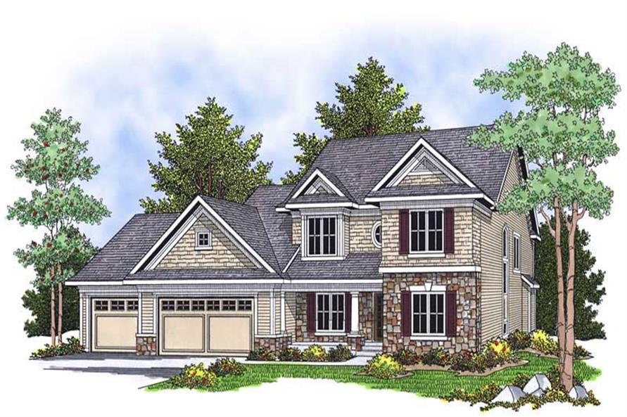 Main image for house plan # 13890