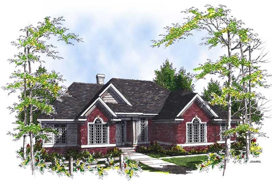 3-Bedroom, 2452 Sq Ft Craftsman House Plan - 101-1536 - Front Exterior