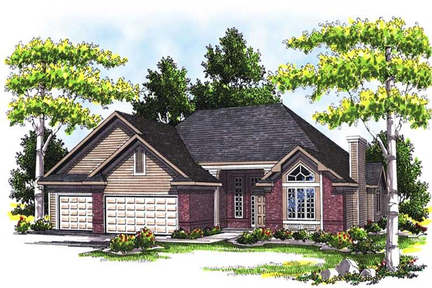 Main image for house plan # 13507