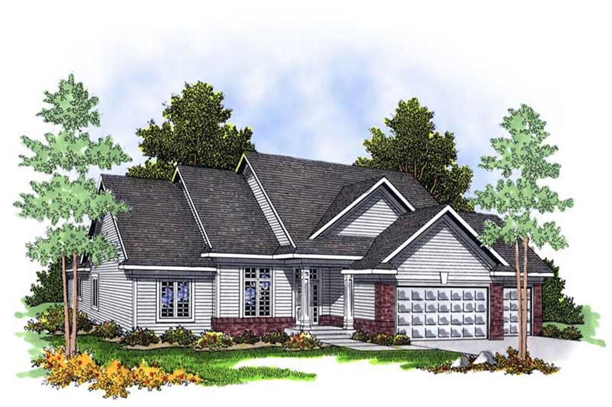 Main image for house plan # 13546